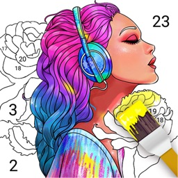Paint Color-Coloring by Number