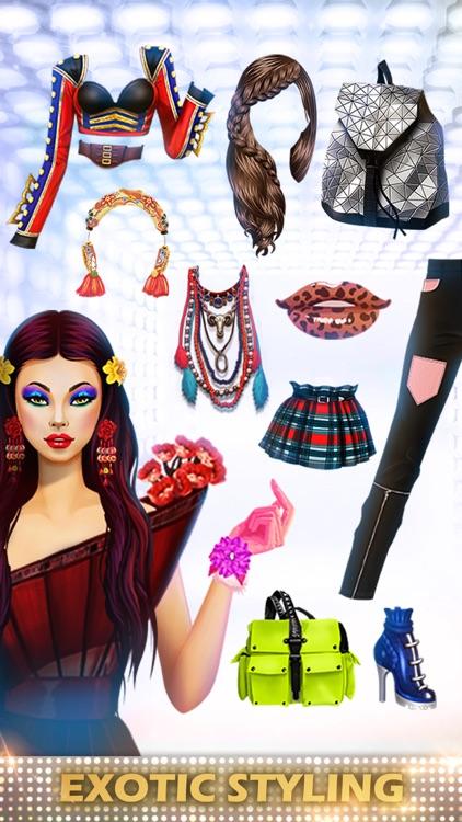 Dress Up Games - Fashion Diva screenshot-0