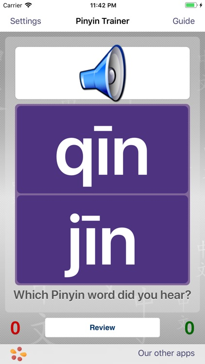 Pinyin Trainer by trainchinese
