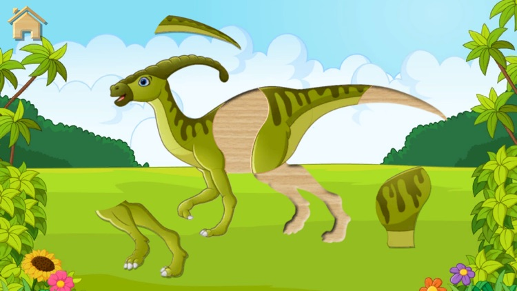 Dino Puzzle for Kids Full Game screenshot-7