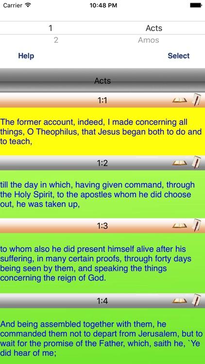 Youngs Literal Voice Bible App screenshot-0