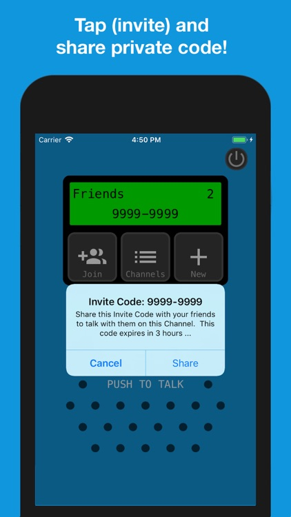 Talk Now Pro! - Walkie Talkie screenshot-2