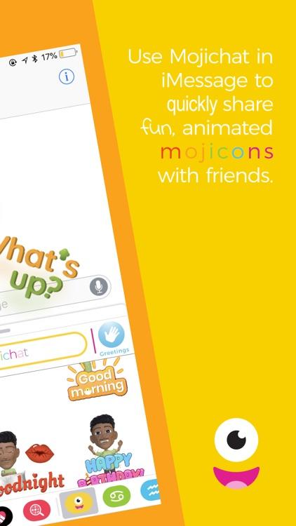 Mojichat: Animated 3D Emojis screenshot-5