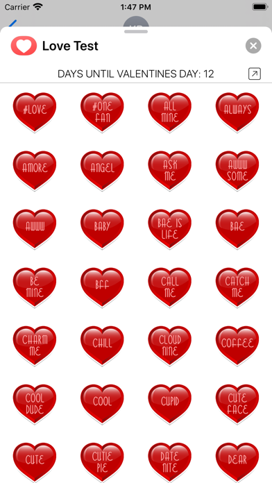 Love Test Compatibility Rating screenshot four