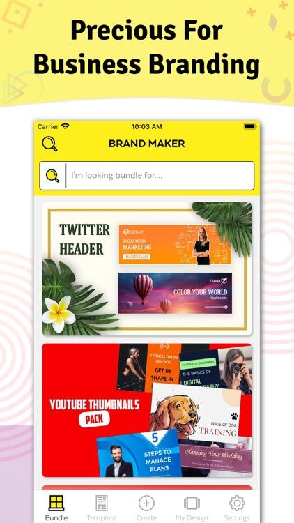 Brand Maker - Graphic Design screenshot-8