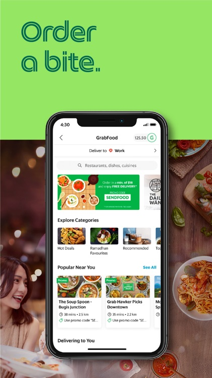 Grab: Food, Grocery, Ride, Pay