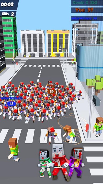 Zombies Crowd In City 2019 screenshot 2