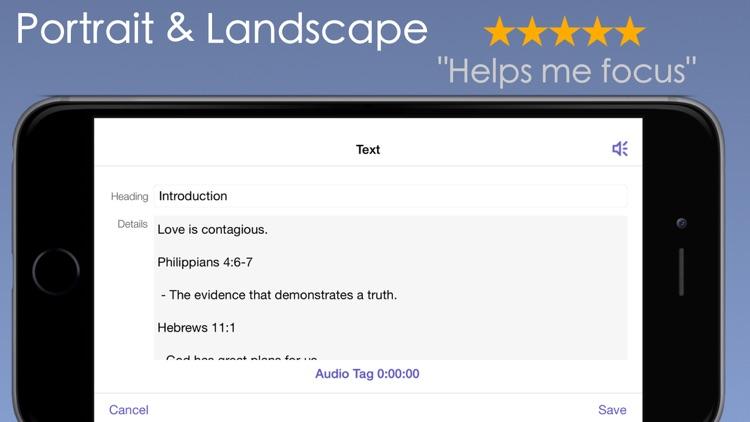 Sermon Notes PRO - Learn Apply screenshot-4