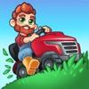芝刈りに夢中 - iPadアプリ