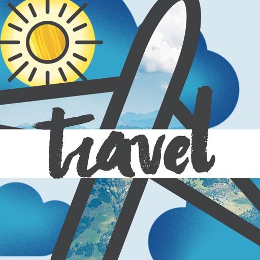 Travel-Moji Texting Stickers