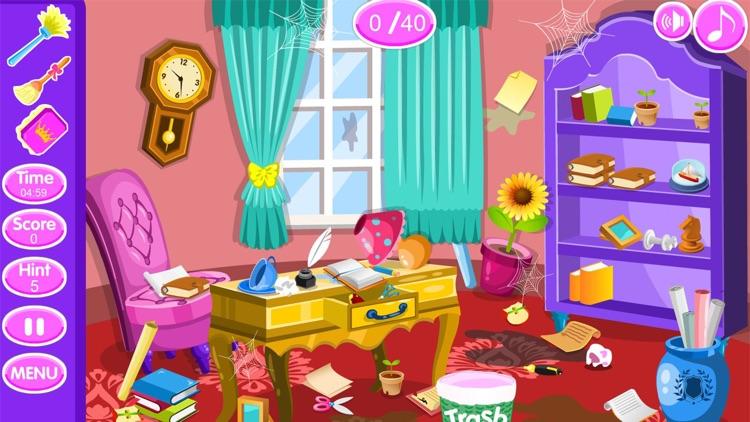 Princess room cleanup games screenshot-4