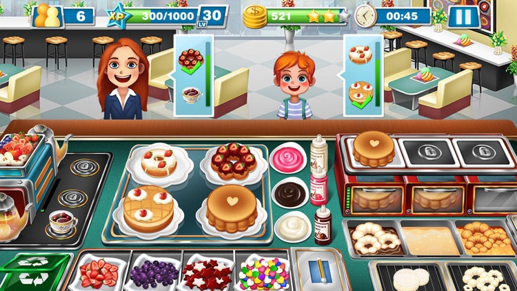 Crazy Cooking Chef: Fever Game screenshot-5