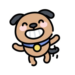 Cute Dog Avatar Stickers.