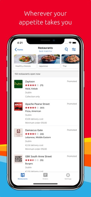 Just Eat On The App Store