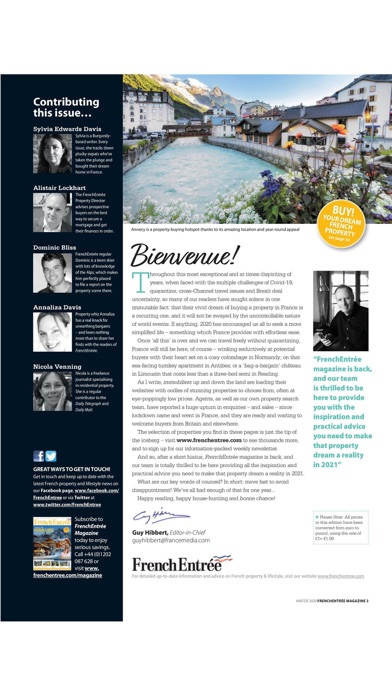 FrenchEntrée MagazineScreenshot of 3