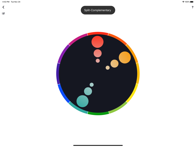 ‎Color Wheel Screenshot