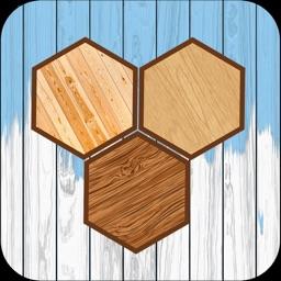 Hexa Wooden Block Puzzle!