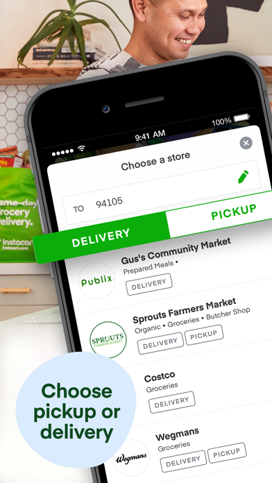 cancel Instacart: Same day groceries app subscription image 1