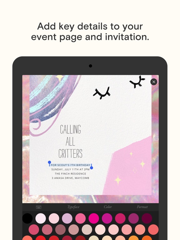 Paperless Post: Invitations and eCards screenshot