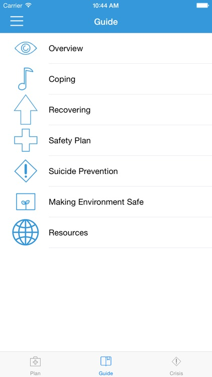 Suicide Safety Plan