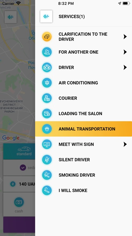 UGO order taxi in Kiev screenshot-3