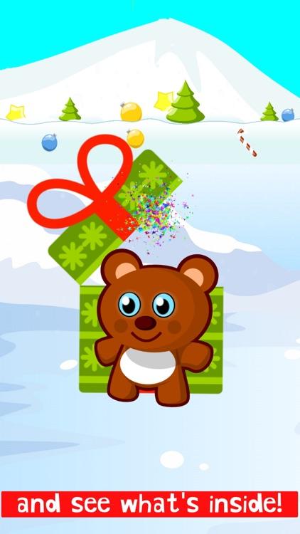 Christmas Train Snowman Games screenshot-3