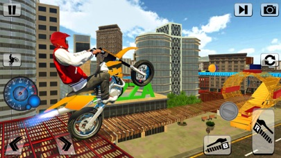 Impossible Bike Stunt Rider 3d screenshot four
