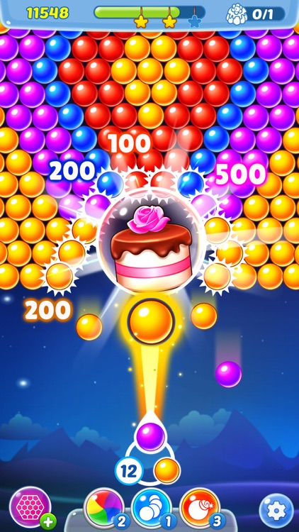 Bubble Shooter Ⓞ Pastry Pop screenshot-1