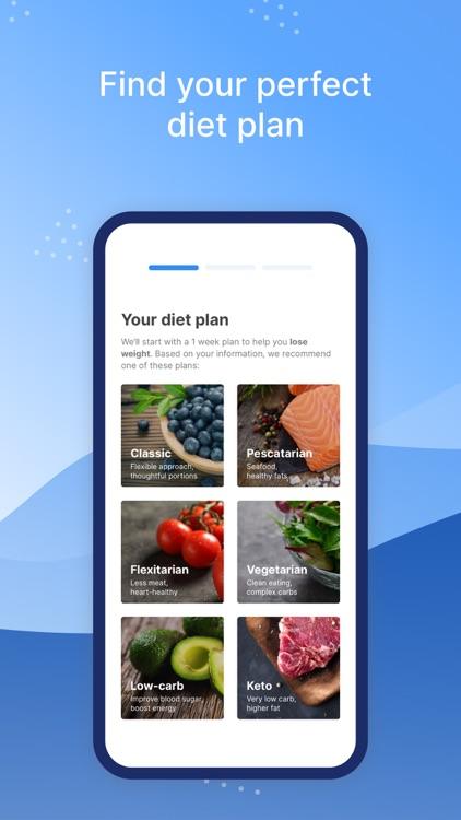 Intent: Diet Meal Planner