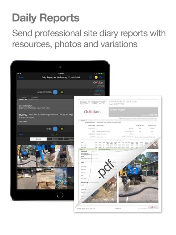 Quiicker Site Management Tool