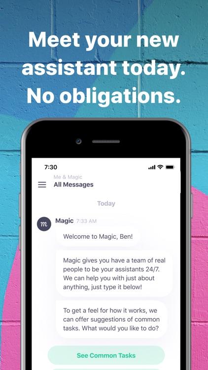 Magic Personal Assistant screenshot-3