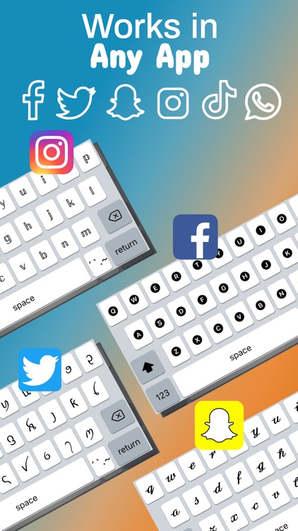 Fonts Keyboard - Cool Fonts screenshot-0