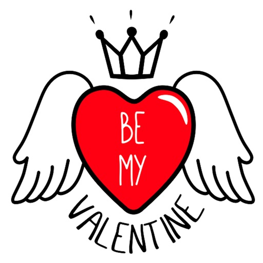 Valentine Day Stickers Pack