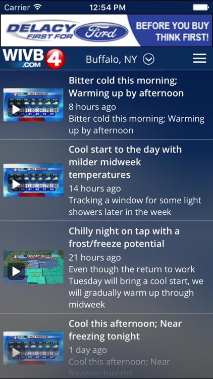 4 Warn Weather - WIVB screenshot-4