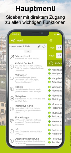 Mvv Karte.Mvv App Im App Store