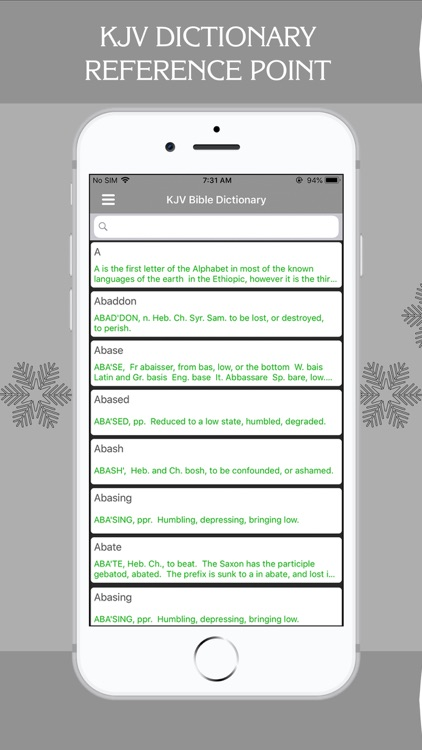 KJV Bible Dictionary - Offline