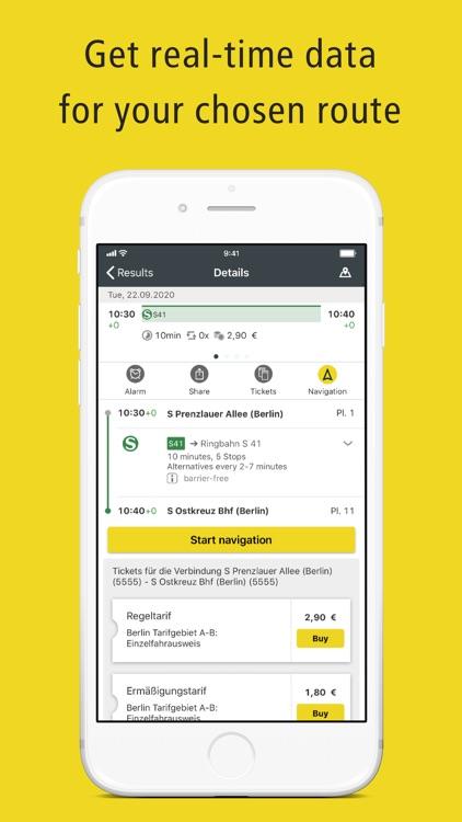 BVG Fahrinfo: Routes & Tickets screenshot-3