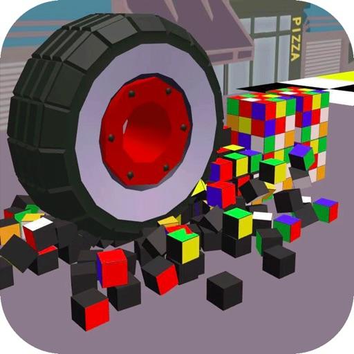 车轮压一压3D-解压游戏