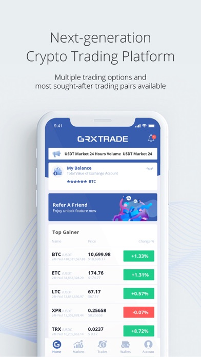 GRXTrade Screenshot