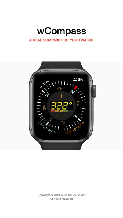 A Real COMPASS For WATCH 4