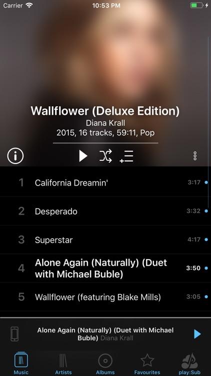 play:Sub Music Streamer screenshot-4