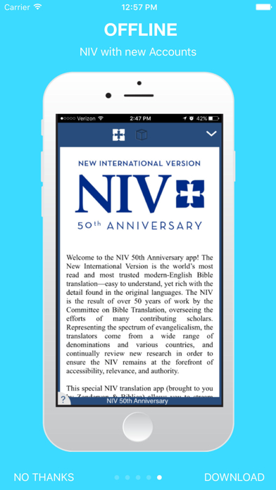 NIV 50th Anniversary Bible by Bible App Labs LLC (iOS, United States