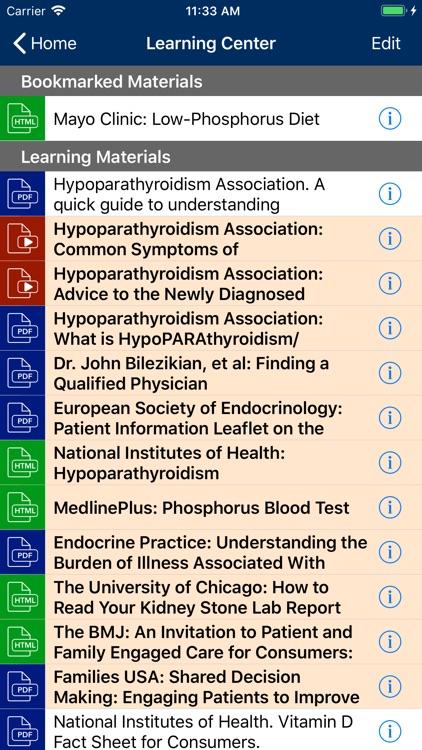 Hypoparathyroidism Manager screenshot-5