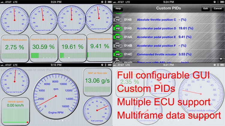 Engine Link - OBD II diagnosis screenshot-4
