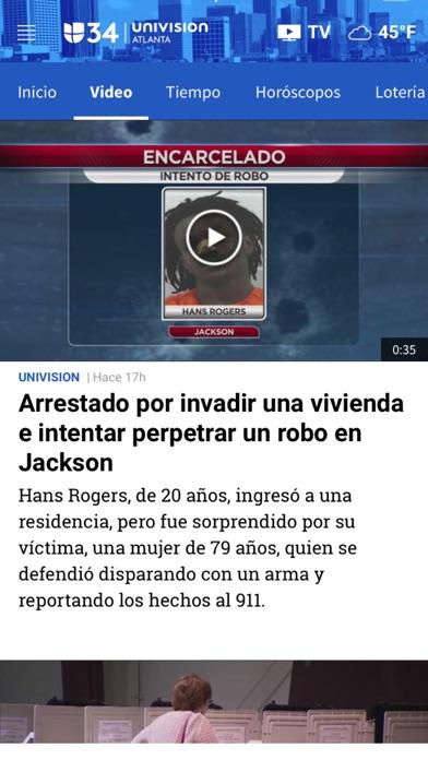 Univision 34 Atlanta screenshot 4