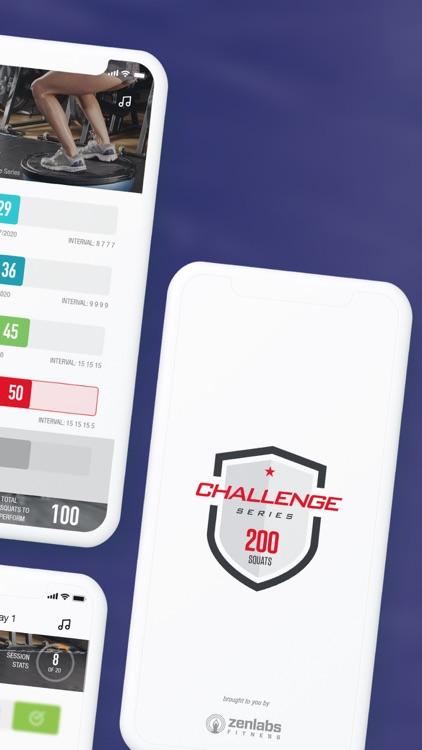 0-200 Squats Trainer Challenge screenshot-7