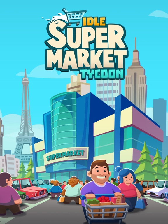 Idle Supermarket Tycoon - Shop на iPad