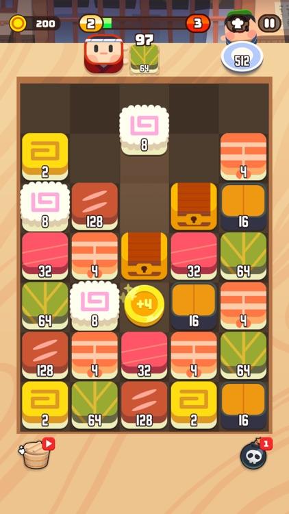 Sushi Drop : Merge Puzzle