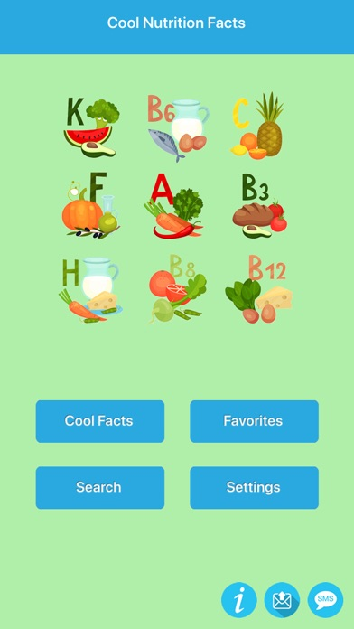 Cool & Amazing Nutrition Facts app image
