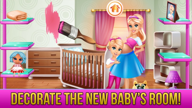New Baby Sister Makeover Game screenshot-4
